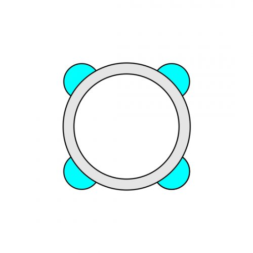 38 MM ALU 100 RING